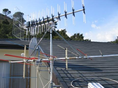 UHFアンテナの写真